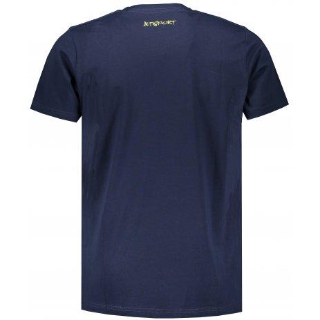 Chlapecké triko ALTISPORT FRRAN MTSS569 TMAVĚ MODRÁ
