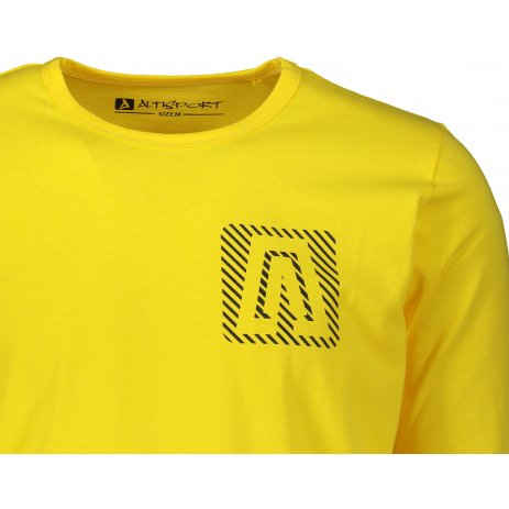 Chlapecké triko ALTISPORT CESC MTSS566 ŽLUTÁ
