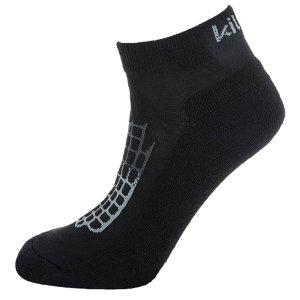 Dámské sportovní ponožky KILPI MIDDLAN-L ČERNÁ