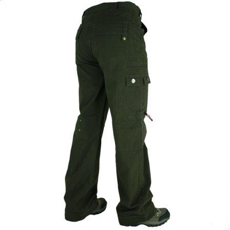 Pánské kalhoty C-POINT KANT HNĚDÁ