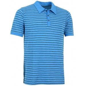Pánské triko s límečkem ALPINE PRO JANEIRO 2 MODRÁ