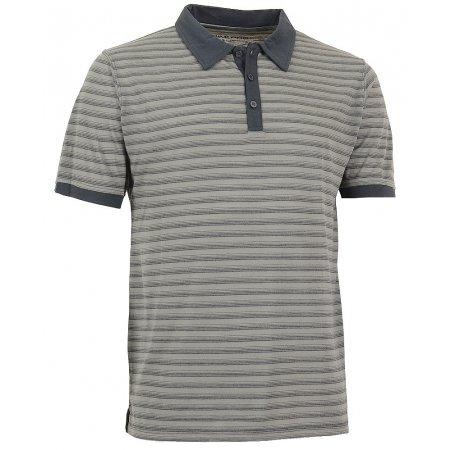 Pánské triko s límečkem ALPINE PRO JANEIRO 2 ŠEDÁ