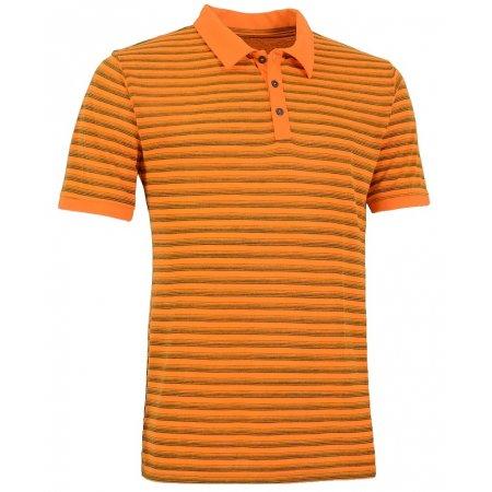 Pánské triko s límečkem ALPINE PRO JANEIRO 2 ORANŽOVÁ