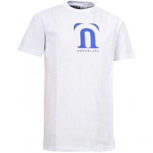 Dětské triko NORDBLANC GALE NBFKT3403S BÍLÁ 110-140