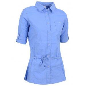 Dámská košile s 3/4 rukávem NELL W14052 MODRÁ
