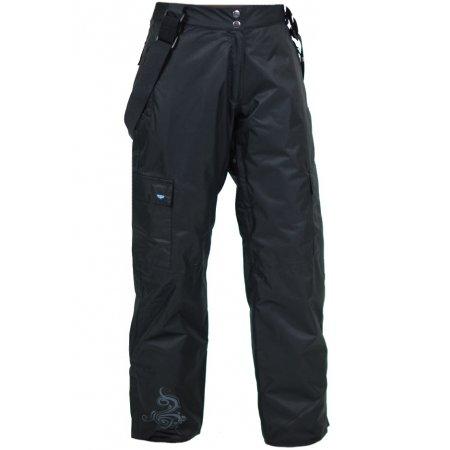 Dámské lyžařské kalhoty WOOX PANTO ČERNÁ